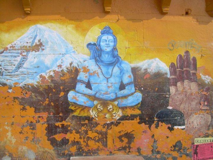 Shiva - Benares - Inde 2012