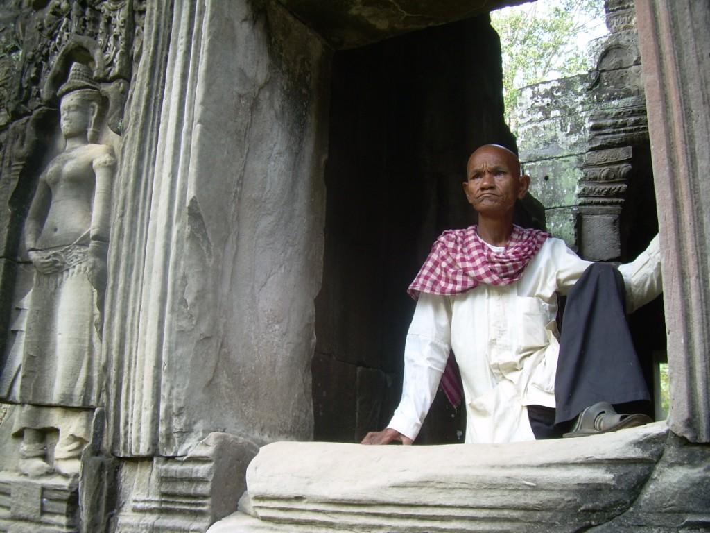 Statu(r)e - Angkor - Cambodge 2008