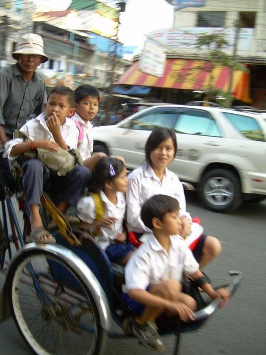 Tuctuc - Cambodge 2009