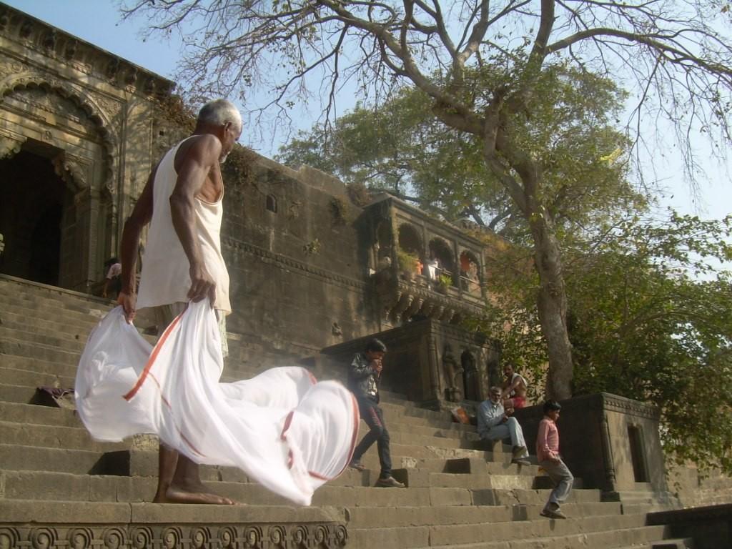 Ghats - Maheshwar - Inde 2012