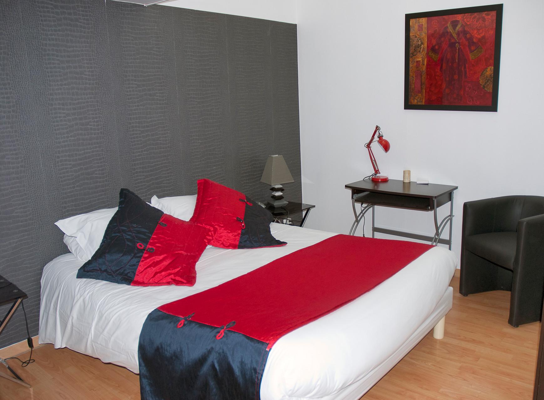Chambre parentale lit 160 x 200