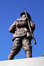 Le soldat australien veille