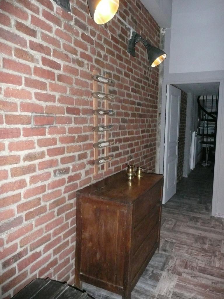"""Mezzanine au dessus du salon vers la suite... Espace """"Industrie"""""""