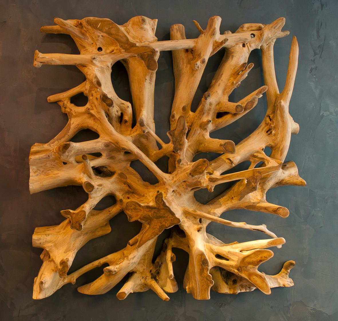 Racine de bois flotté