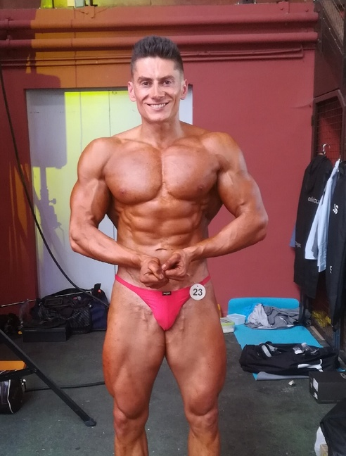 Vice-Champion de France de Bodybuilding