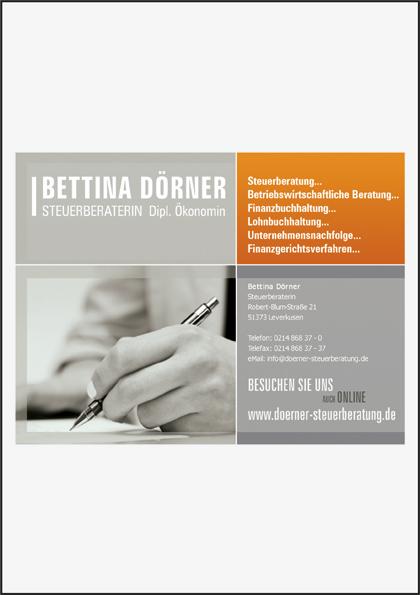 Steuerberaterin Bettina Dörner
