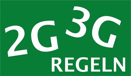 2G-Regeln oder 3G-Regeln für Veranstaltungen während der Session 2021/2022