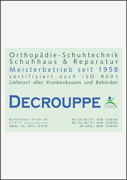 Decrouppe Orthopädie-Schuhtechnik