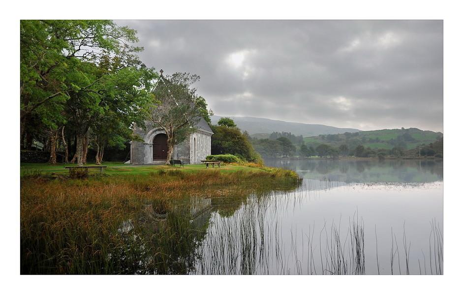 Church at Gougane Barra National Forest Park / Cork I
