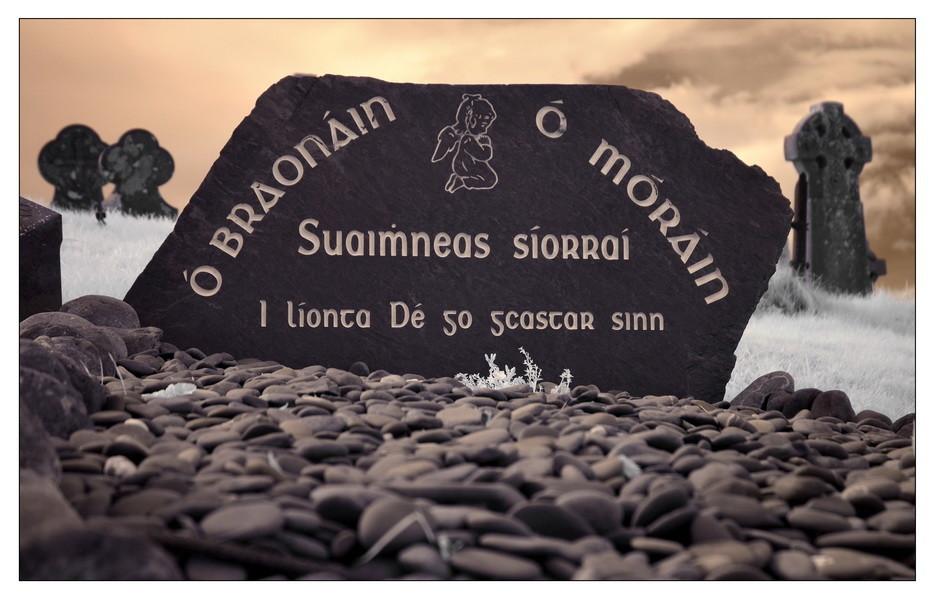 Derrynane Beach, Abbey Island, Iveragh Peninsula, Co. Kerry VIII (Infrarot)
