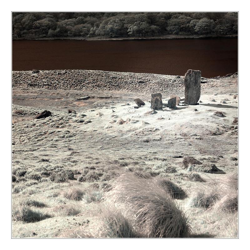 Uragh Stone Circle / Beara Peninsula II (Infrarot)