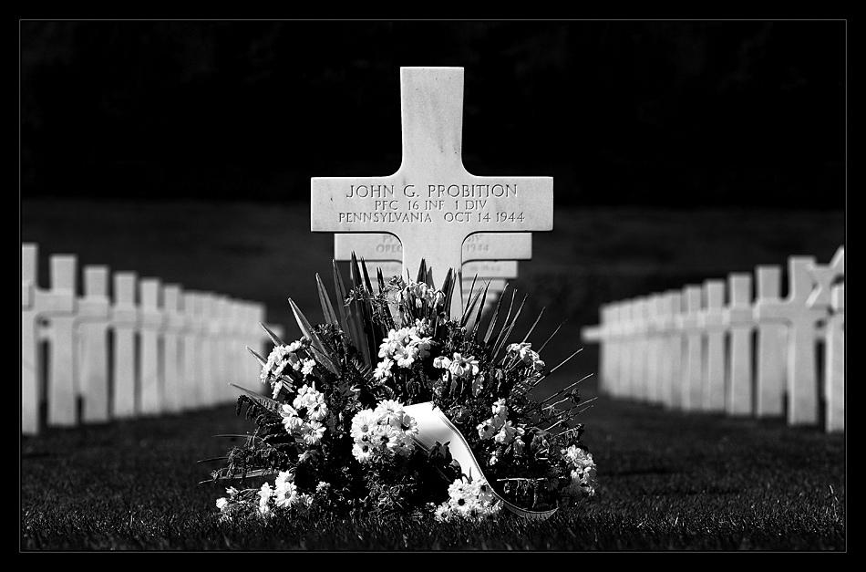 US-Soldatenfriedhof mit Gedenkstätte bei Henri-Chapelle IV