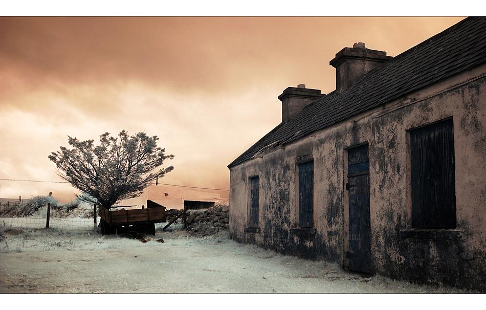 Achill Island / County Mayo IV (Infrarot)
