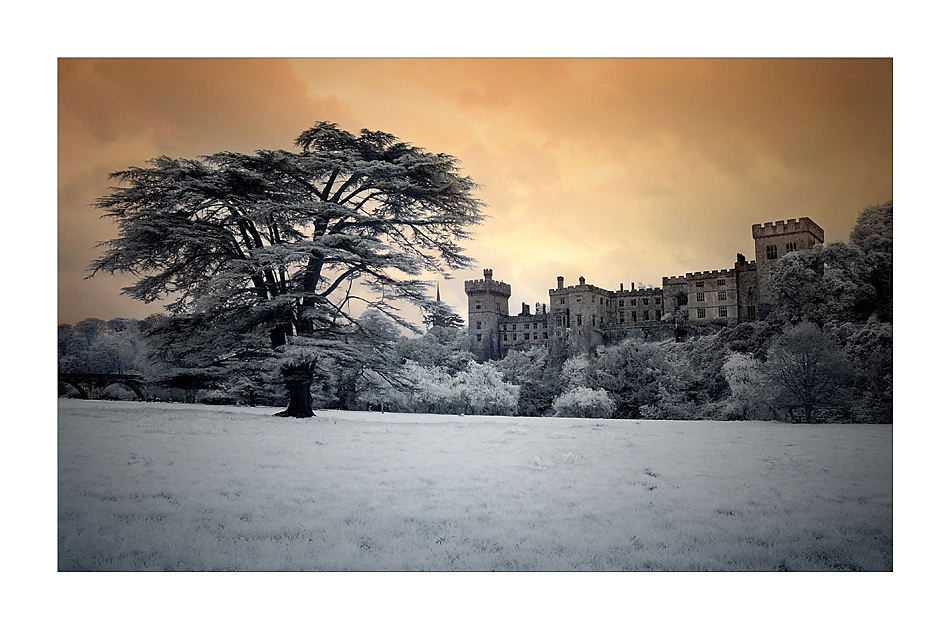 Lismore Castle / County Waterford II (Infrarot)