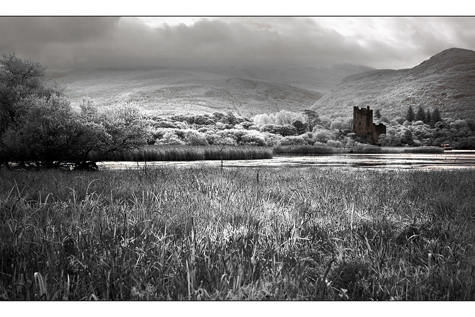 Ross Castle / Killarney National Park (Infrarot)