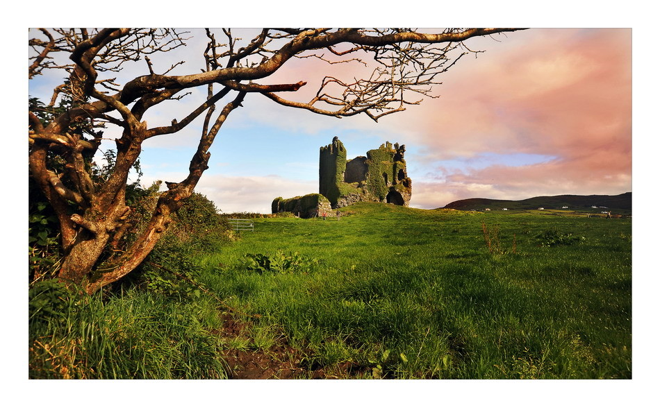 Ballycarbery Castle, Iveragh Peninsula, Co. Kerry