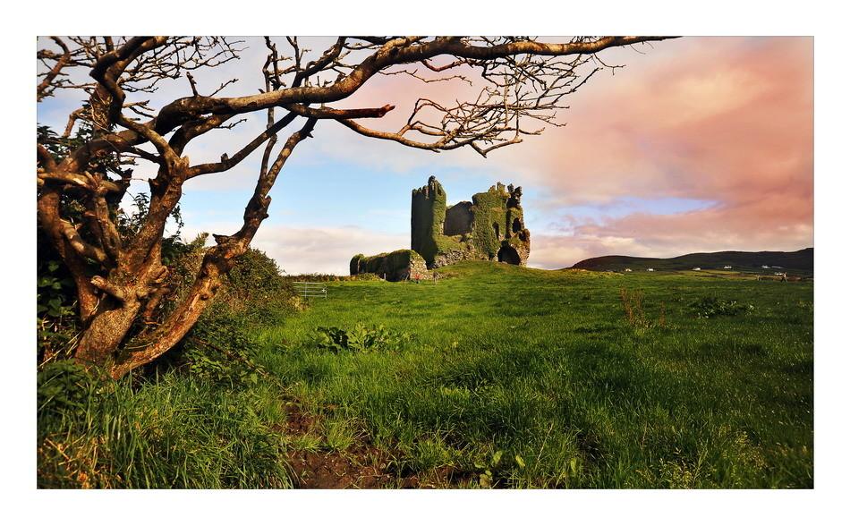 Ballycarbery Castle, Iveragh Peninsula, Co. Kerry
