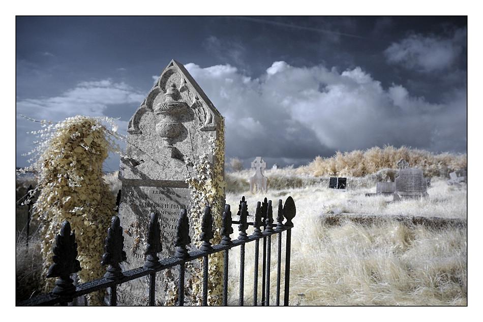 Old Cemeterie / Kilcoe / Southwest of County Cork II (Infrarot)