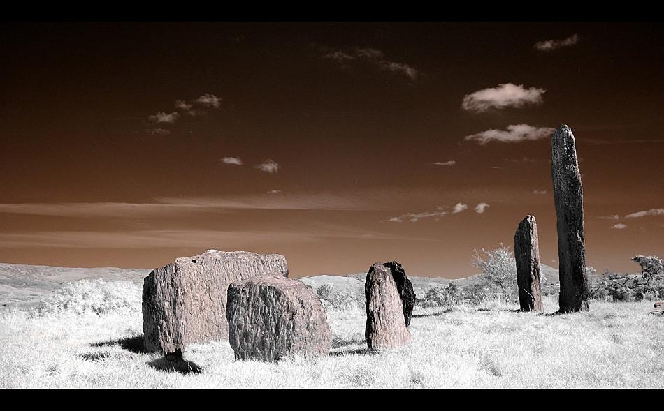 Kealkill Stone Circle / Co. Cork II (Infrarot)