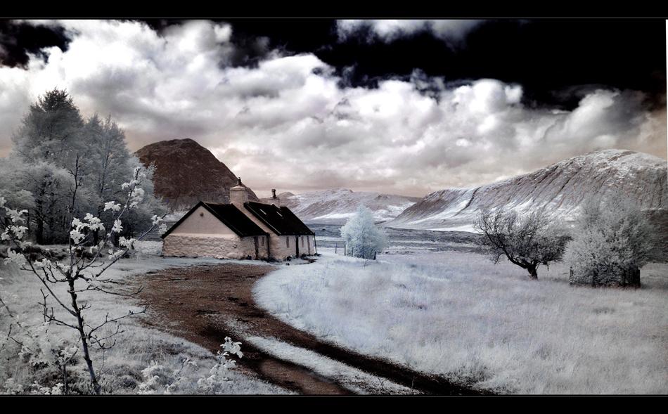 Glencoe / Black Rock Cottage II (Infrarot)