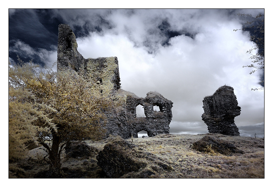 Castle Barrett / Mallow - Co. Cork X (Infrarot)
