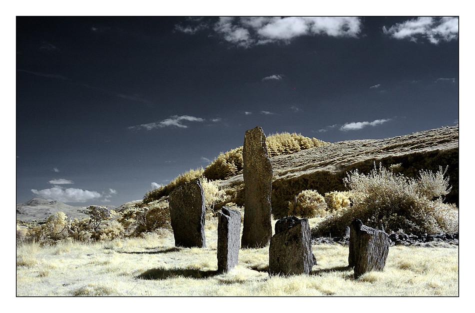 Kealkill Stone Circle / Co. Cork IV (Infrarot)