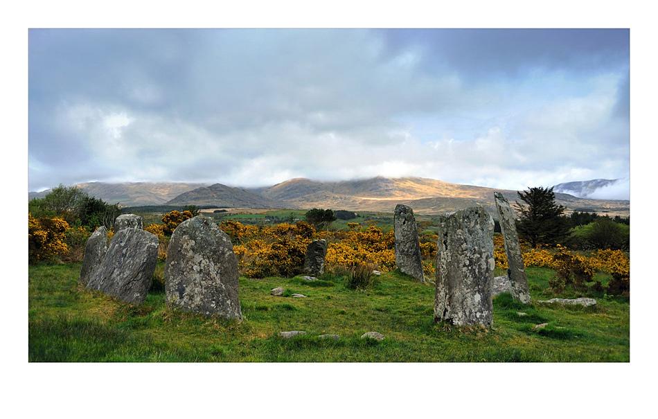 Steinkreis Derrintaggart in Castletownbere / Beara Peninsula