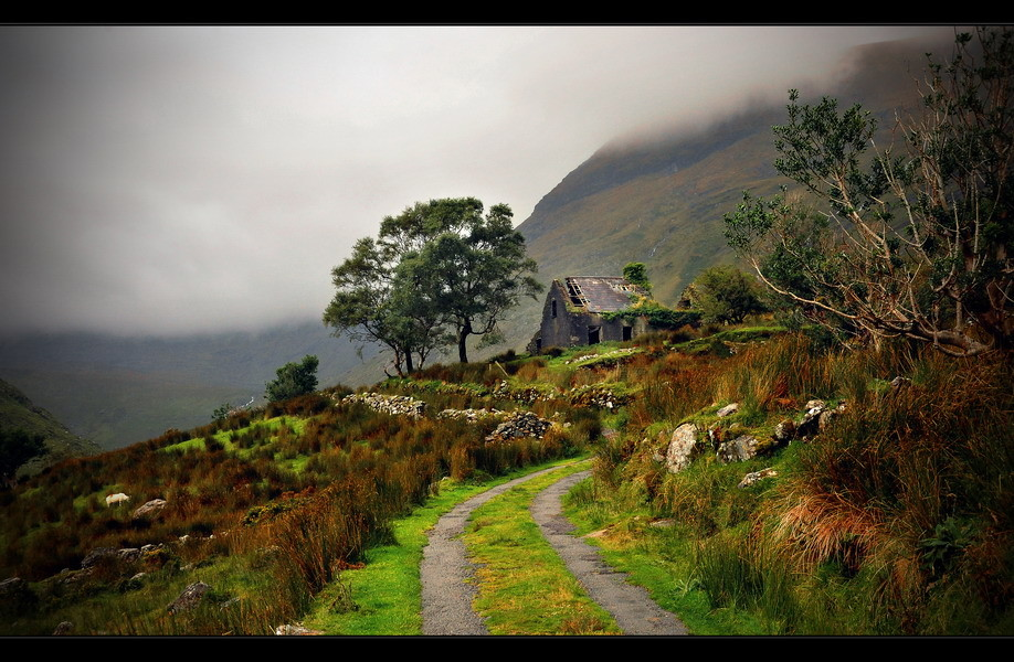Dromluska Cottage, Black Valley, Killarney Nationalpark