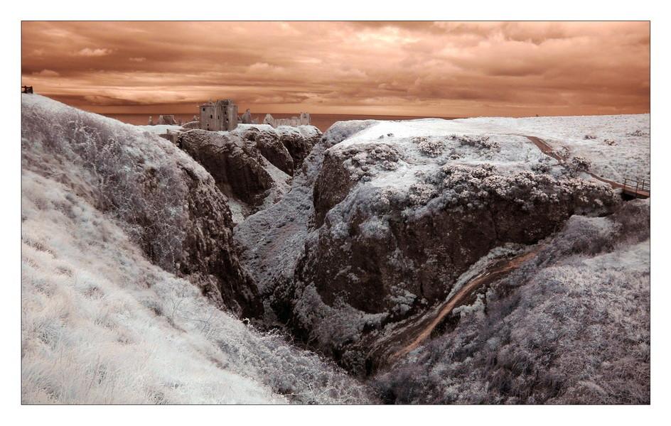 Dunnottar Castle III (Infrarot)