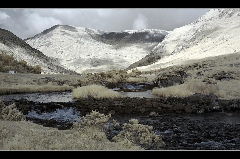 Bundoragha River / Connemara II (Infrarot)