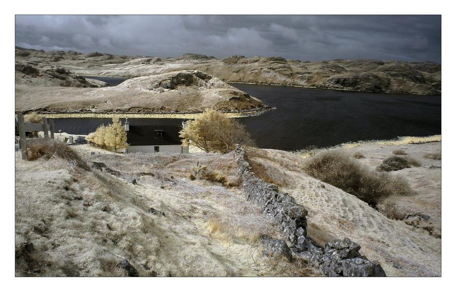 Loch Inchard / Achriesgill (Infrarot)