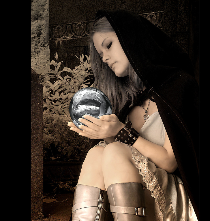 Die Gräfin V (Infrarot)