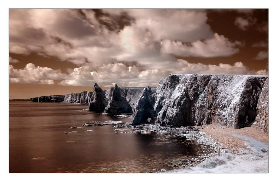 Stacks of Duncansby Head IV (Infrarot)