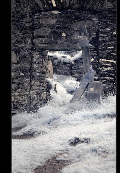 Derrynane Beach, Abbey Island, Iveragh Peninsula, Co. Kerry VI (Infrarot)