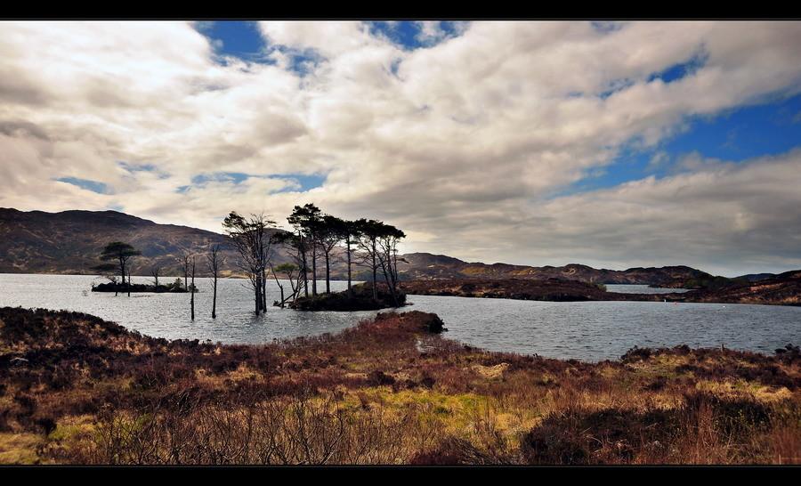 Loch Assynt, Sutherland, Highlands