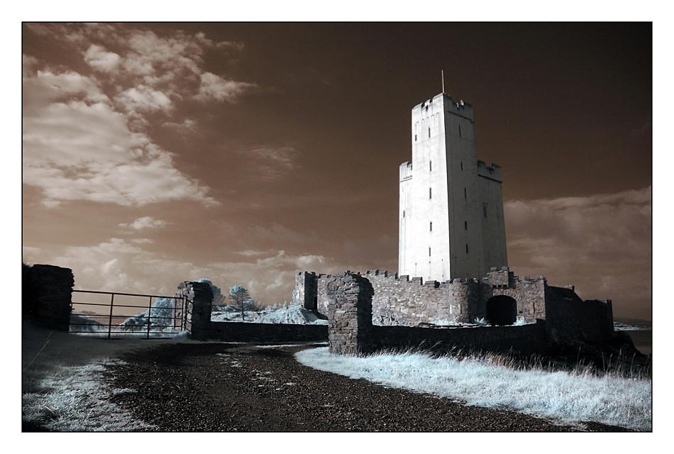 Kilcoe Castle / Southwest of County Cork III (Infrarot)