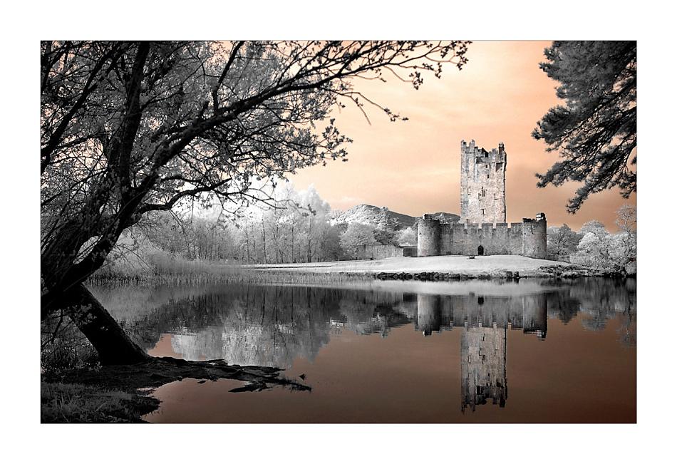 Ross Castle / Killarney National Park (Infrarot) III