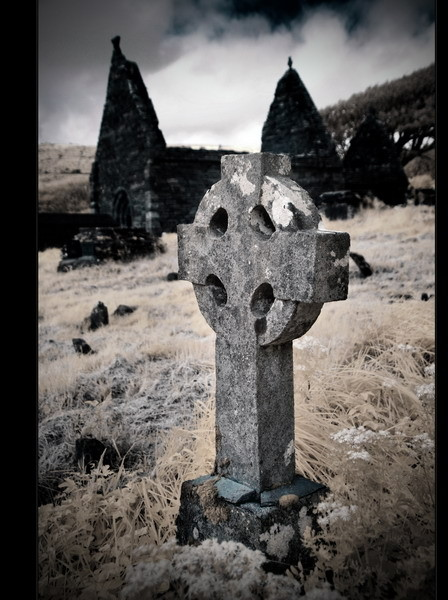Cill Maolcheadair, Dingle Peninsula, Co.Kerry II (Infrarot)