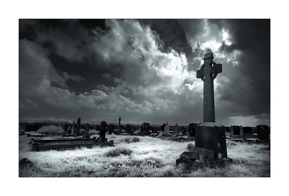 Friedhof auf Dingle Island