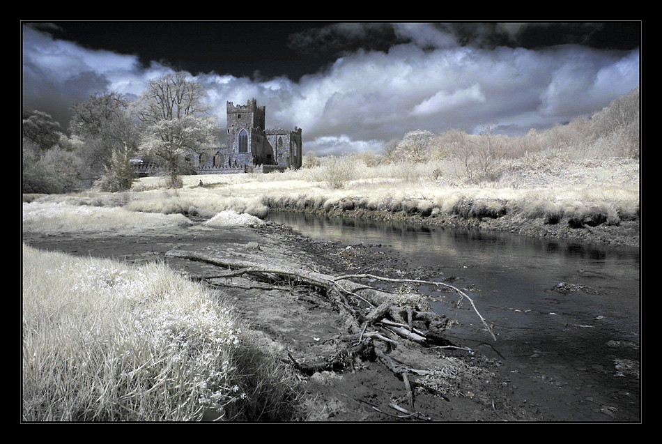 Tintern Abbey / Hook Peninsula IV (Infrarot)