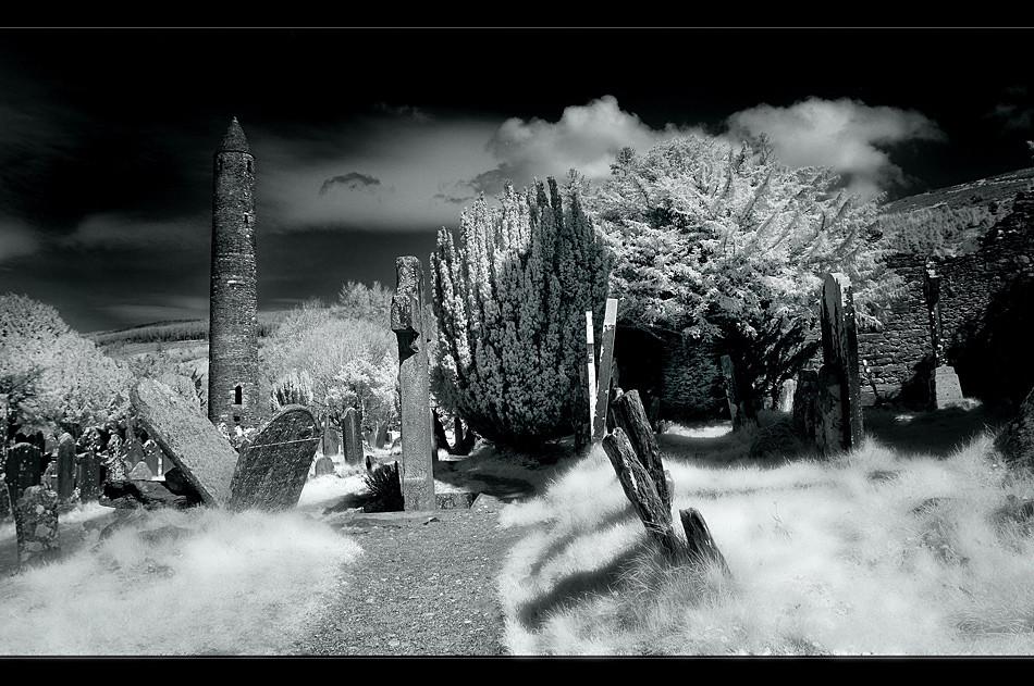 Glendalough / Wicklow Mountains XI (Infrarot)