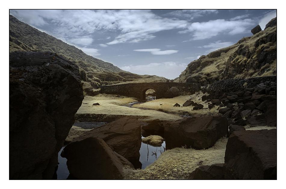 Gap of Dunloe / Killarney National Park VII (Infrarot)