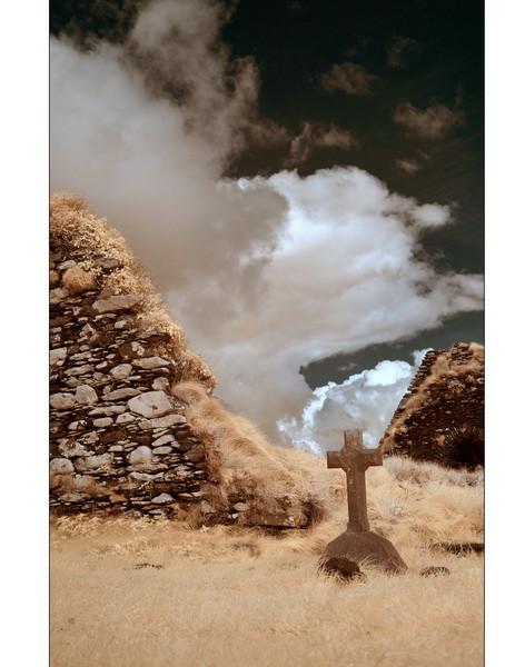 Derrynane Beach, Abbey Island, Iveragh Peninsula, Co. Kerry II (Infrarot)
