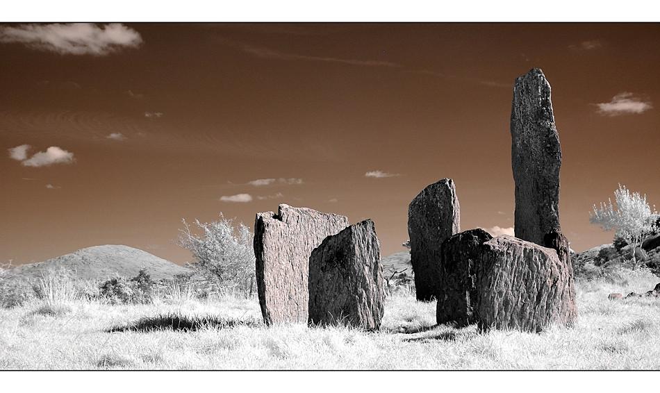 Kealkill Stone Circle / Co. Cork III (Infrarot)