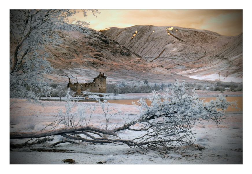 Kilchurn Castle, Loch Awe, Highlands II (infrarot)
