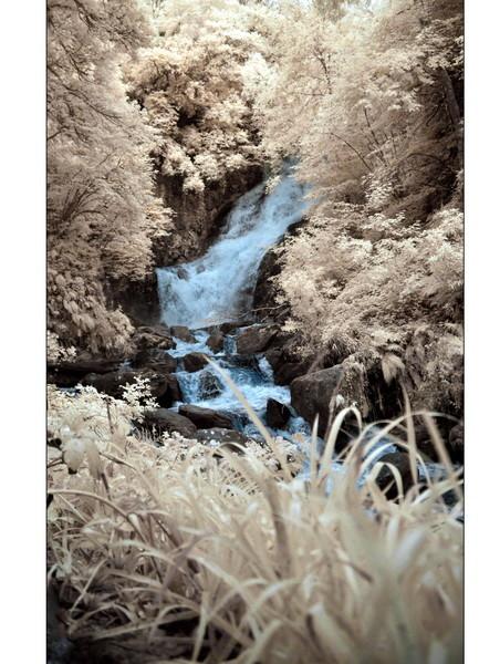 Torc Waterfall, Killarney Nationalpark II (Infrarot)