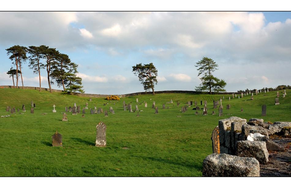 Friedhof in der Nähe von Hollywood / Wicklow