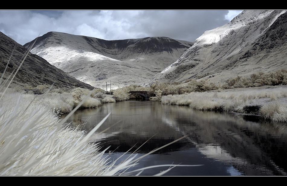 Bundoragha River / Connemara (Infrarot)