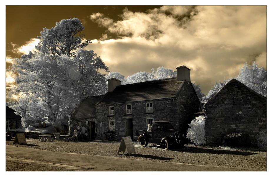 Molly Gallivans Cottage & Traditional Farm /Bonane, Co. Kerry (Infrarot)