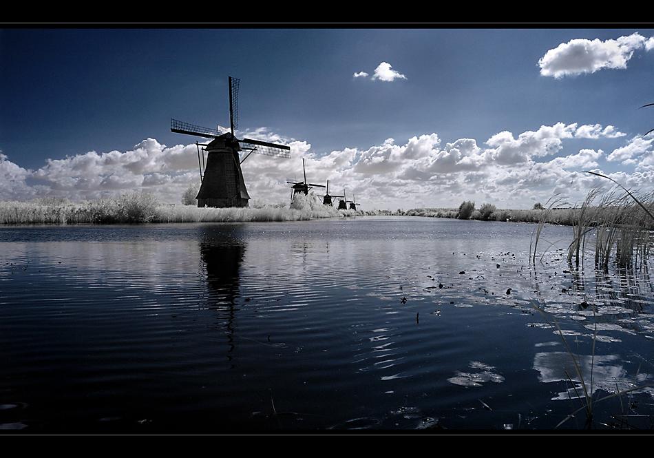 Die Mühlen von Kinderdijk II